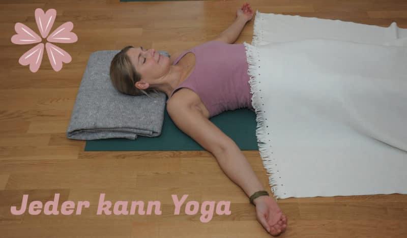 Yogaschülerin